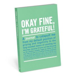 Knock Knock MINI IT journal okay fine, I'm grateful
