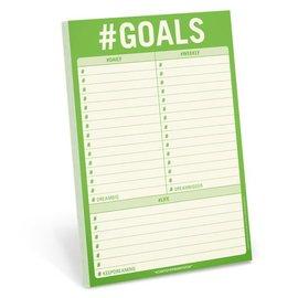 Knock Knock Pad # Goals