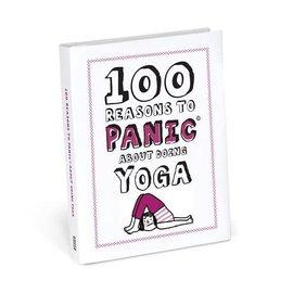 Knock Knock 100 reasons to panic - Yoga