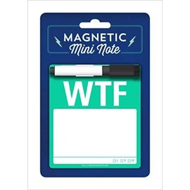 Knock Knock Magnetic Mini Note: WTF