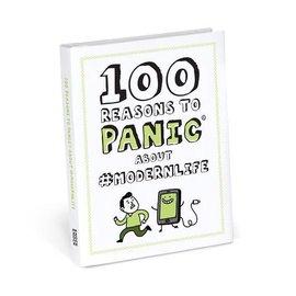 Knock Knock 100 REASONS TO PANIC ABOUT MODERN LIFE