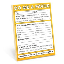 Knock Knock Nifty Note - Do me a Favor