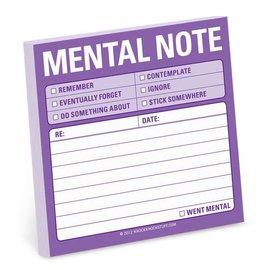 Knock Knock Sticky Note: Mental Note