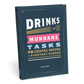 Knock Knock Book: drinks for mundane tasks