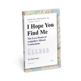 Knock Knock Book: I hope you find me