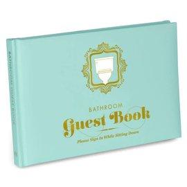 Knock Knock Guest Book: Bathroom