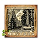 Metal Box Art Customizable, For Fresh Mountain Air  Metal or Wood