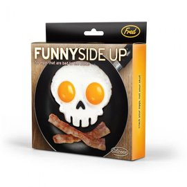 Fred & Friends FUNNY SIDE UP-SKULL - EGG CORRAL