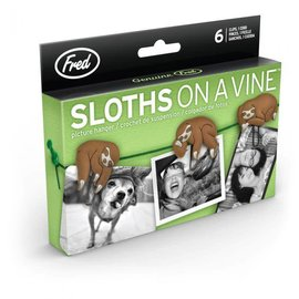 Fred & Friends sloths on a vine picture holder