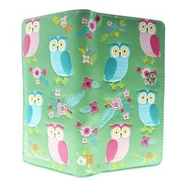 Shagwear OWL GARDEN, LIGHT TEAL