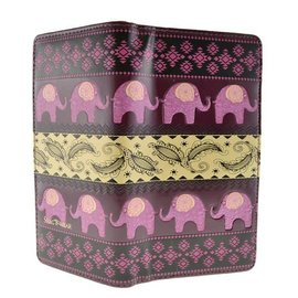 Shagwear TRIBAL ELEPHANT PATTERN, PURPLE