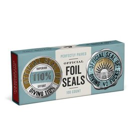 Knock Knock STICKER SEAL GIVING 110%