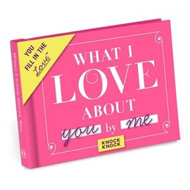 Knock Knock FILL IN JOURNAL LOVE ABOUT YOU