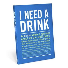 Knock Knock IT JOURNAL I NEED A DRINK