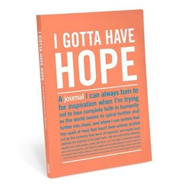 Knock Knock IT JOURNAL I GOTTA HAVE HOPE