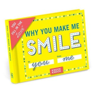 Knock Knock FILL IN JOURNAL MAKE ME SMILE