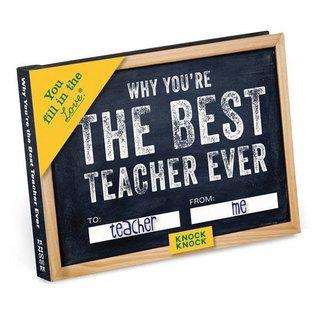 Knock Knock FILL IN JOURNAL TEACHER