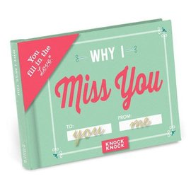 Knock Knock FILL IN JOURNAL MISS YOU
