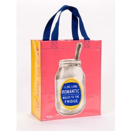 Blue Q HANDY TOTE - LONG ROMANTIC WALKS TO THE FRIDGE