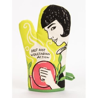 Blue Q OVEN MITT - HOT HOT VEGETARIAN ACTION