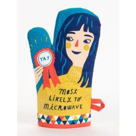 Blue Q OVEN MITT - MOST LIKELY TO MICROWAVE