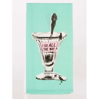 Blue Q DISHTOWEL - I GO ALL THE WAY