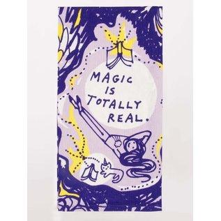 Blue Q DISHTOWEL - MAGIC IS TOTALLY REAL