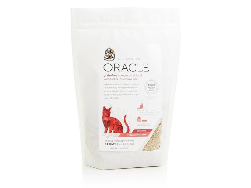 Dr. Harvey's Oracle Grain-Free Beef for Cats