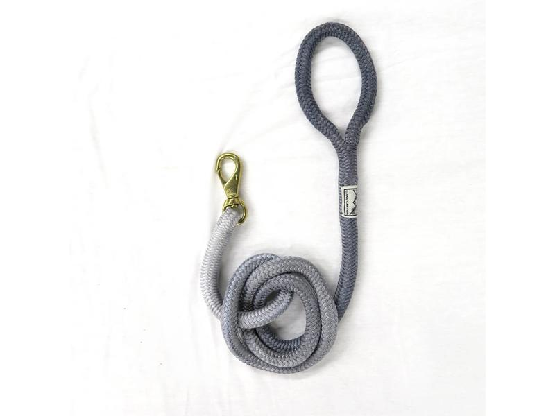 Cloud Canyon Silver Ombré Lock Stitched Lead