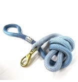 Cloud Canyon Blue Ombré Lock Stitched Lead