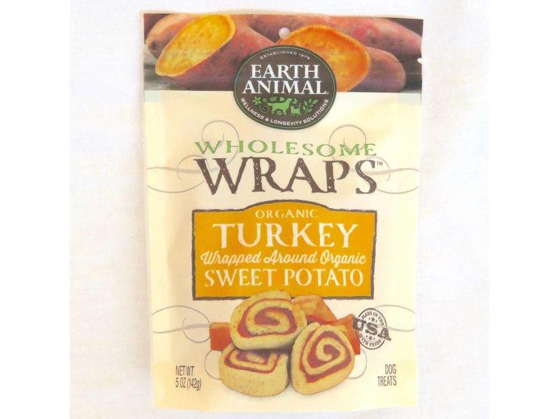 Earth Animal Organic Turkey & Sweet Potato Wraps