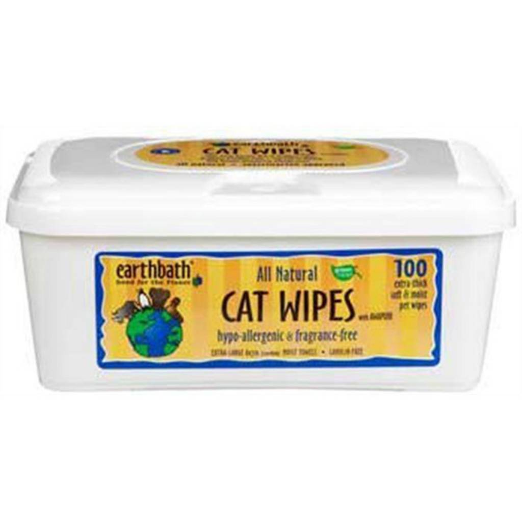 Earthbath Hypo Allergenic Grooming Wipes For Cats Feed
