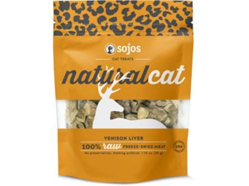 Sojos Natural Cat Venison Liver