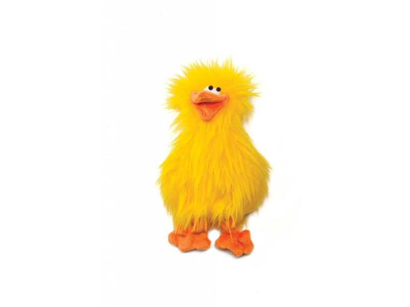 Spring Chicken Toy, Yellow