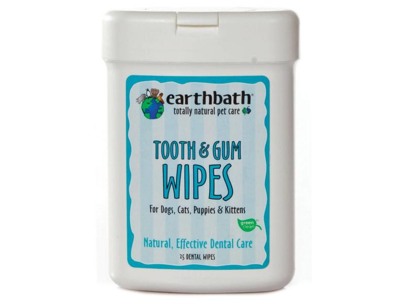 earthbath Tooth & Gum Dental Wipes