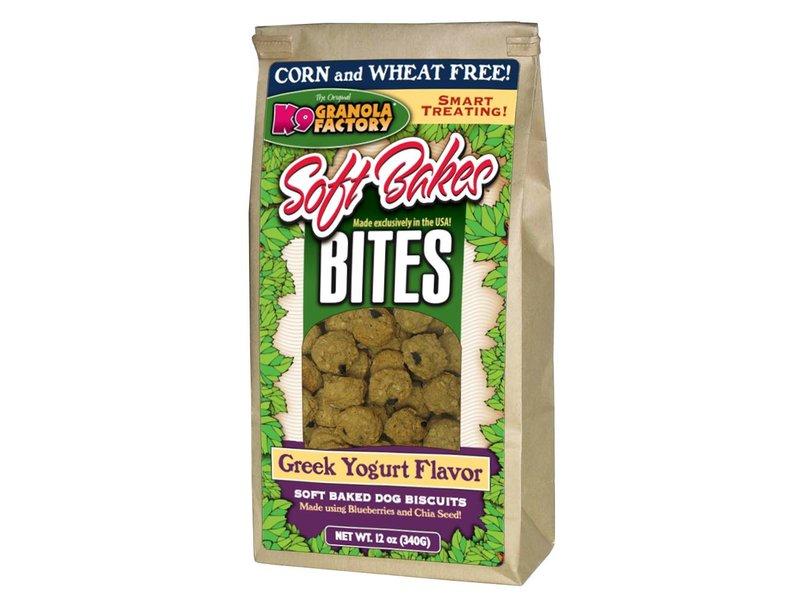 K9 Granola Factory Soft Bakes Bites Greek Yogurt