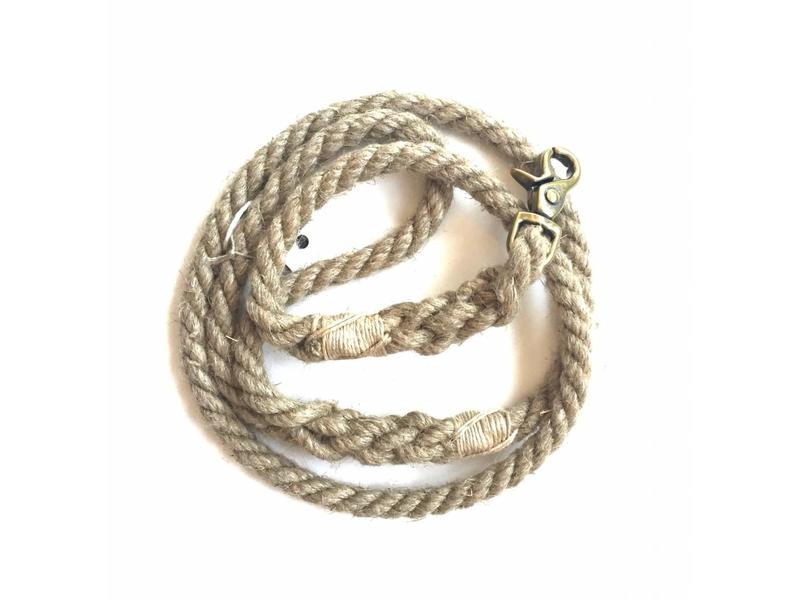 Green Trout Organic Hemp Rope Lead