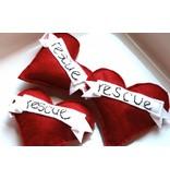 Miso Handmade Rescue Heart Catnip Toy
