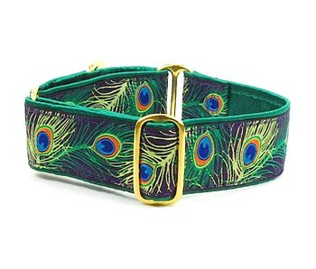 2 Hounds Design Peacock Martingale Collar