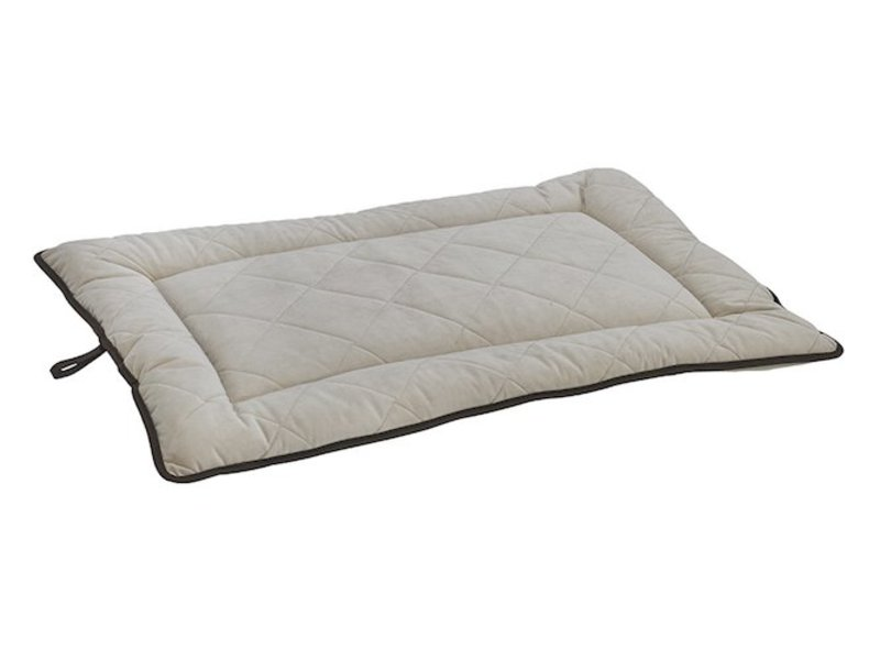 Quilted Mat, Almond