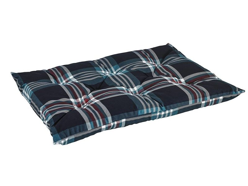 Bowsers Tufted Cushion Glen Meadow Tartan