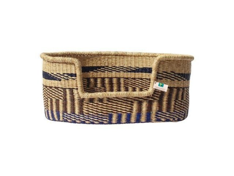 Woven Basket Bed, Earth