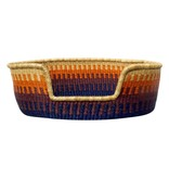 Woven Basket Bed, Sunset