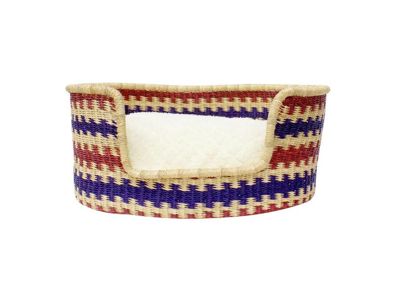 Woven Basket Bed, River