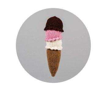 Ware of the Dog Ice Cream Cone Toy
