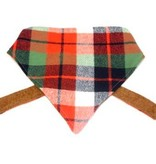 The Modern Mutt Tartan Holiday Plaid Pet Bandana