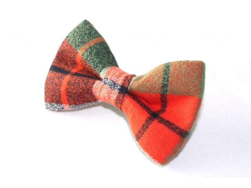 The Modern Mutt Bow-Tie, Tartan