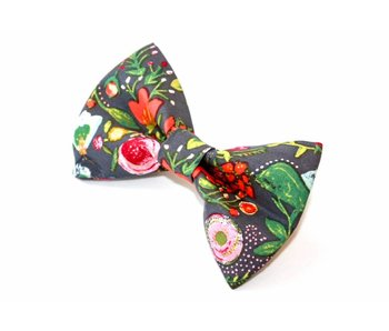 The Modern Mutt Bow-Tie, Holiday Floral