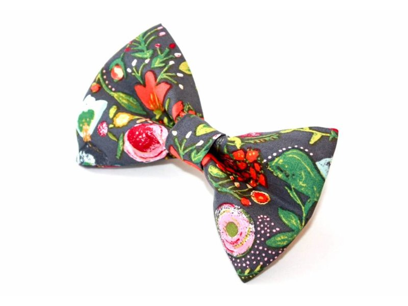 Bow-Tie, Holiday Floral