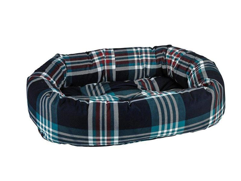 Bowsers Donut Bed, Tartan Plaid